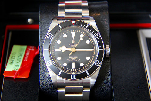 BNIB Tudor Black Bay Black ETA Movement