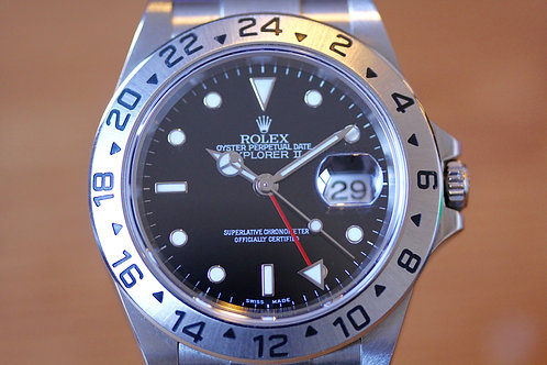 Rolex Explorer II - Black - 16570