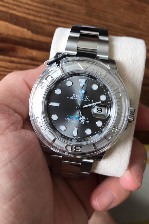 NEW - Rolex Yachtmaster - Rhodium Dial - 116622