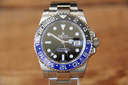 Rolex GMT Master II BLNR - Batman - MINT