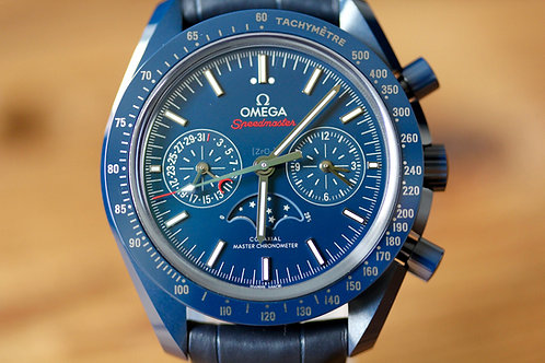 NEW - Omega Speedmaster - Blue Side of the Moon