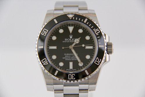 Rolex Submariner No-Date Ceramic 114060