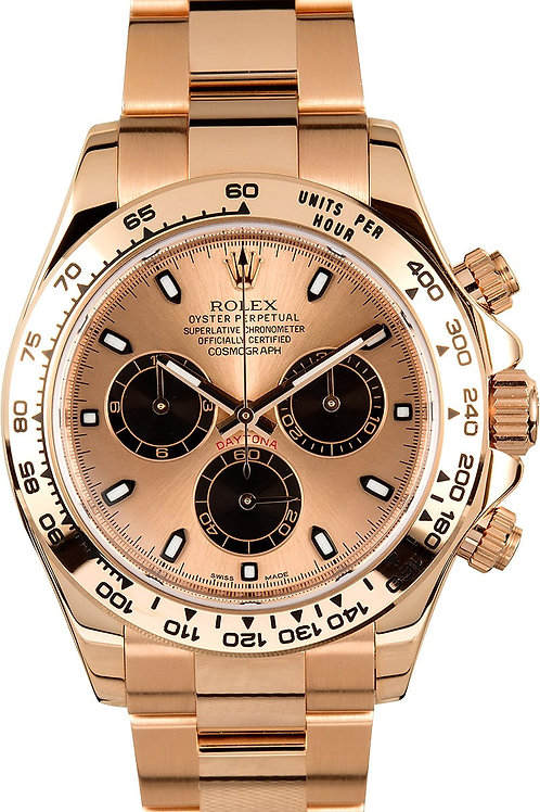 Rolex Daytona - 116505 - 18k Rose Gold