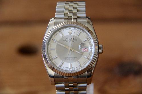 Rolex DateJust - Grey Tuxedo - 116234 - Jubilee