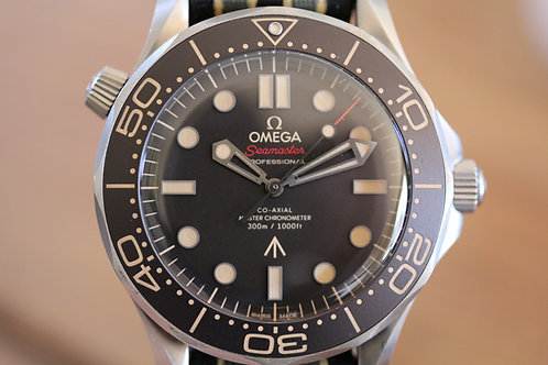 Omega Seamaster - Bond - No Time to Die - 210.92.42.20.01.001
