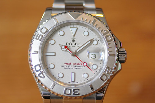 Rolex Yachtmaster - Platinum Dial - 116622