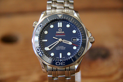 Omega Seamaster SMPc - Blue - Bond Watch