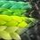 Thumbnail: No regrets Green  - Luxury High Quality OMBRE braiding Hair