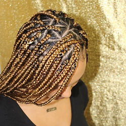 #triangleboxbraids  on #finehair look at