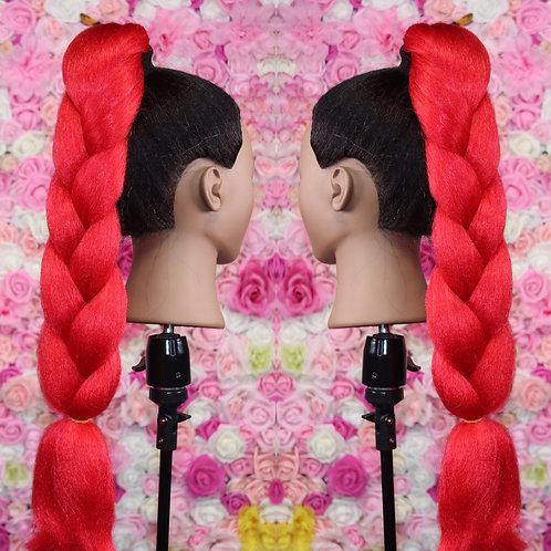 Cherry Red - Luxury Braiding High Quality Hair
