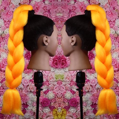 Orange opulence - Luxury Braiding High Quality Hair