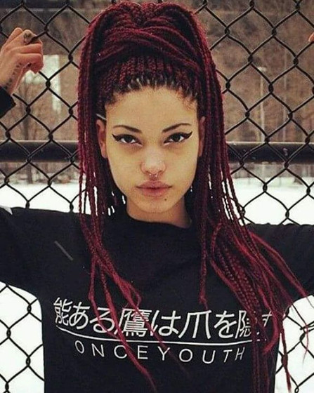 Anybody can get this work !!! #boxbraids
