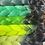 Thumbnail: Green  glow - Luxury High Quality OMBRE braiding Hair