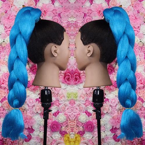 That Ocean Blue - Luxury Braiding High Quality Hair