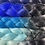 Thumbnail: Butterfly Blue - Luxury High Quality OMBRE braiding Hair