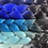Thumbnail: Brooklyn blue - Luxury High Quality OMBRE braiding Hair