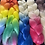 Thumbnail: Pink passion - High Quality 3 color OMBRE braiding Hair