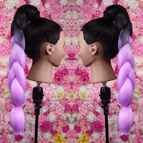 Poetic Purple - Luxury High Quality OMBRE braiding Hair