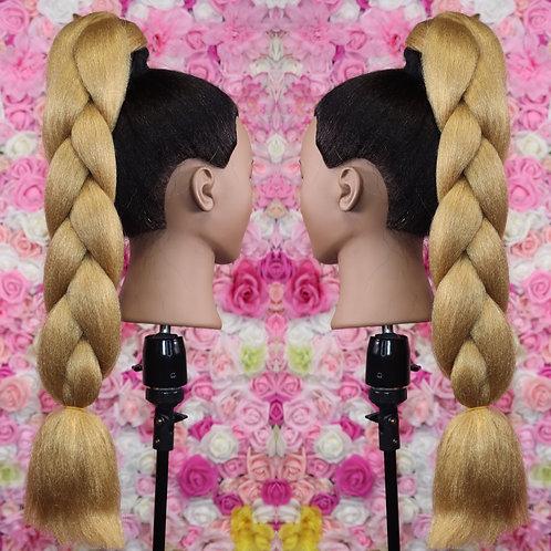 Honey Blonde #27 - Luxury Braiding High Quality Hair