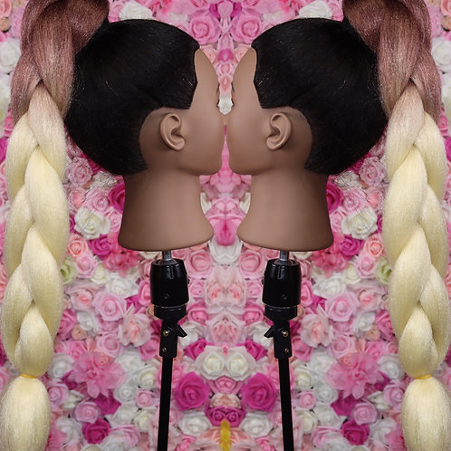 Perfect combination - High Quality OMBRE braiding Hair