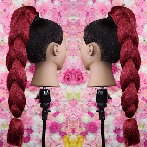 Cranberry  Red - Luxury Braiding High Quality Hair
