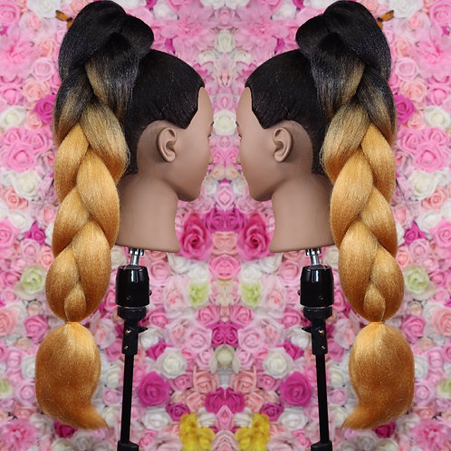 Ice cold gold   - High Quality OMBRE braiding Hair