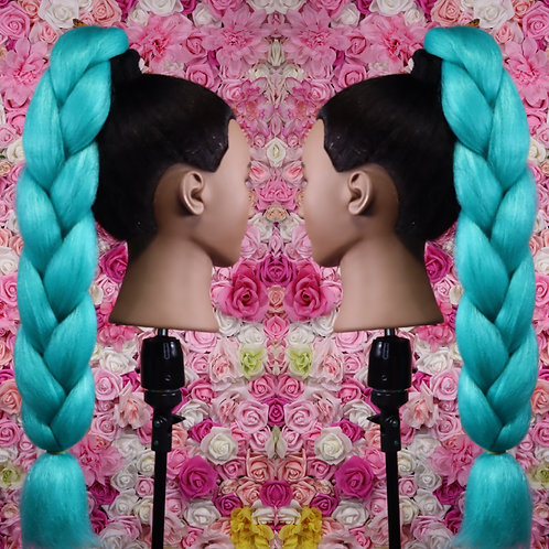 Baddie Blue  - Luxury Braiding High Quality Hair