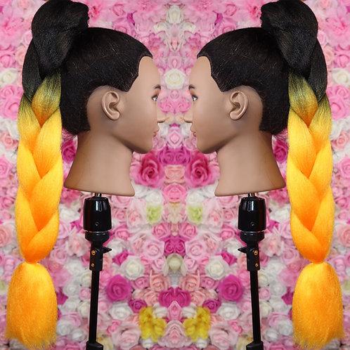 Goal getter   - High Quality OMBRE braiding Hair