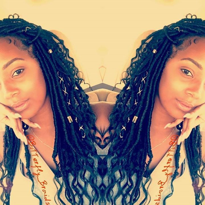 Best Nyc Goddess Locs Faux Lox Box Braids Near Me Messy