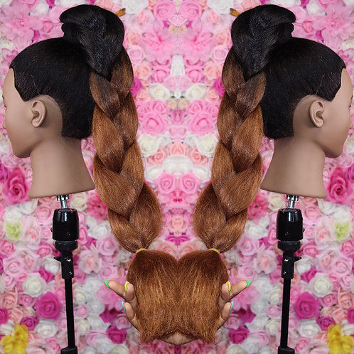 Bobbi brown - High Quality OMBRE braiding Hair