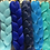 Thumbnail: Baddie Blue  - Luxury Braiding High Quality Hair