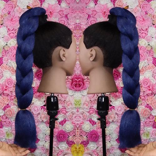 Brave Blue - Luxury Braiding High Quality Hair