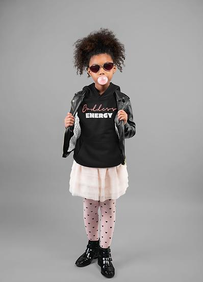 KIDS BLACK OR WHITE GODDESS ENERGY TEE