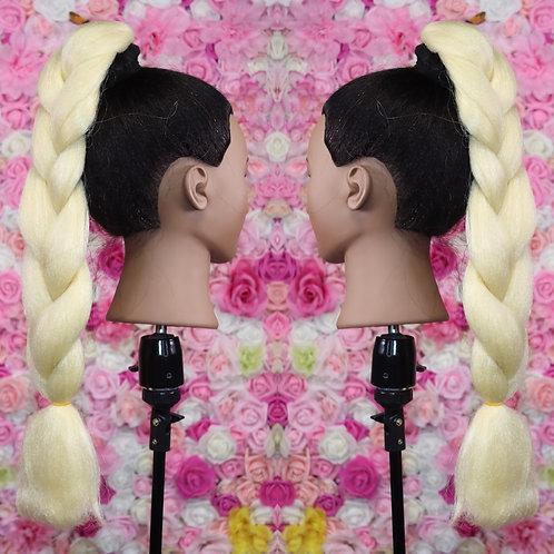 Bleach Blonde - Luxury Braiding High Quality Hair