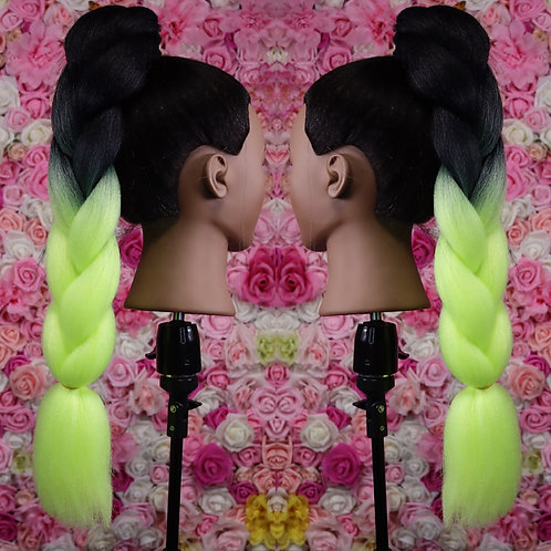 Dont leave me Limon  - High Quality OMBRE braiding Hair