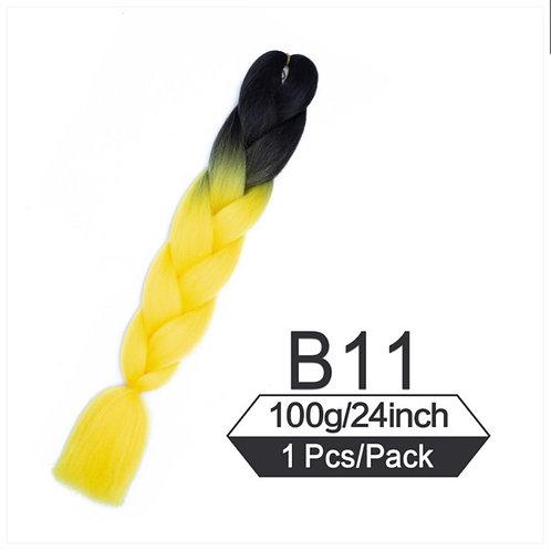 High yellow  - High Quality OMBRE braiding Hair