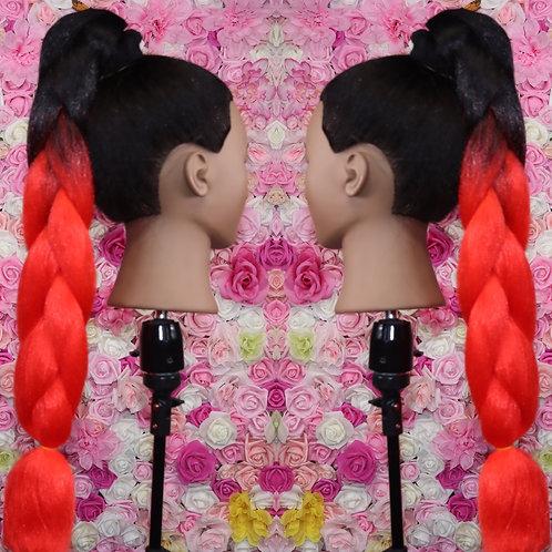 Koolaid dip  - Luxury High Quality OMBRE braiding Hair