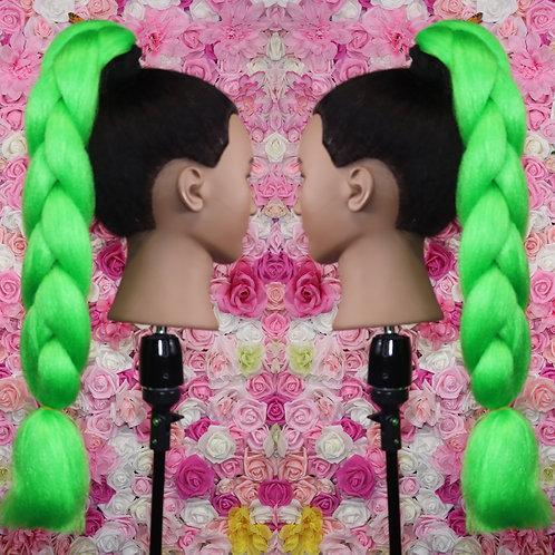 Gorgeous green ? - Luxury Braiding High Quality Hair
