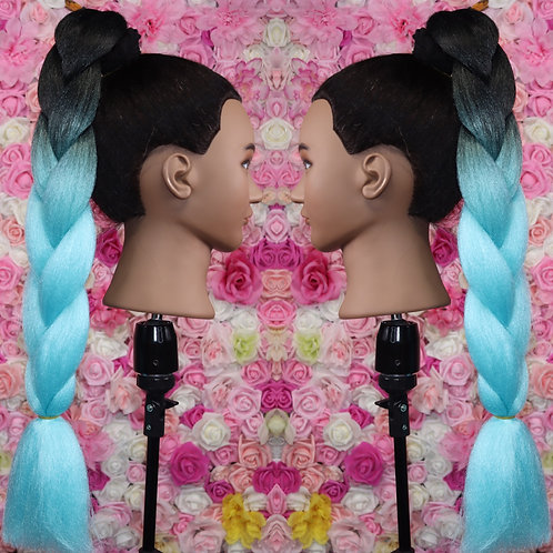 Boyfriend Blue - Luxury High Quality OMBRE braiding Hair