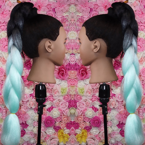 Blue bella  - Luxury High Quality OMBRE braiding Hair