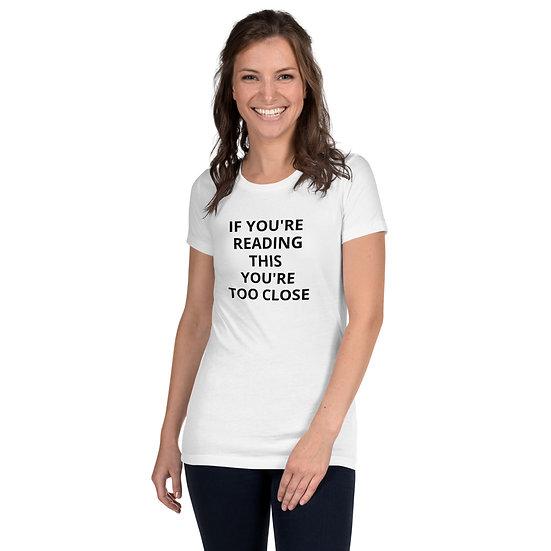 \GIMME 6 FEET Women's Fitted T-Shirt