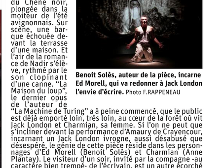 """Critiques :""""La maison du Loup"""" et """"La femme qui ne vieillissait pas"""""""