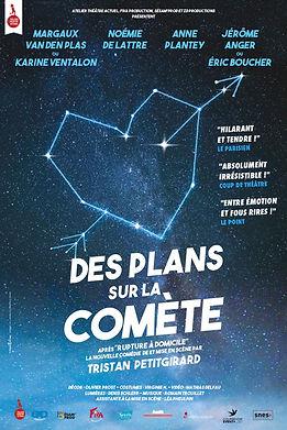 Affiche DES PLANS SUR COMÈTE de Tristan Petitgirard