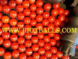 Lot 500 X .68 Cal. PVC Nylon Riot Balls