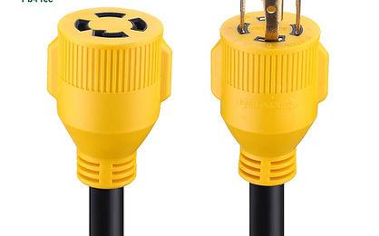 Miady 20ft 30 Amp Generator Cord, 10 Gau