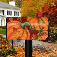Pumpkin Patch Fall Magnetic Mailbox Cove