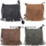 Fringe Crossbody Handbag Concealed Carry