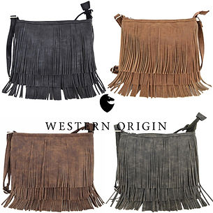Fringe Crossbody Handbag Concealed Carry