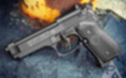 Beretta 92FS CO2 Pellet Pistol 0.177 cal