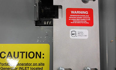SD-200VA Square D Generator Interlock Ki